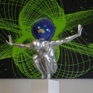 atlas-xl-argento-globo-satellitare-21cm-1