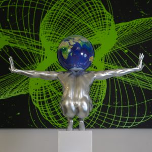 atlas-xl-argento-globo-satellitare-21cm-4